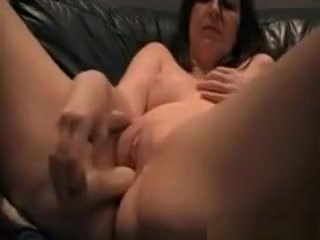 Housewife Lucy Toying Fingering and Squirting scottish girl getting fucked