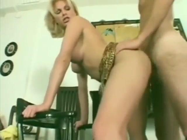 hot guy fucks sexy blonde shemale
