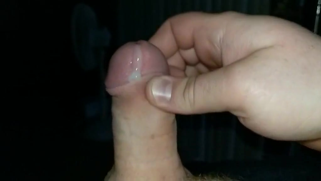 Slowmo jerk and cum of small dick Ferret is not peeing