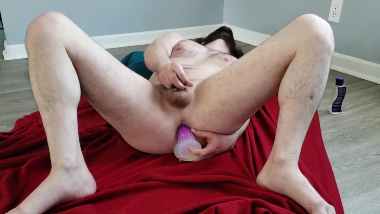 Stroking myself on the floor and fucking my ass with a dildo Hot naked virgen girl