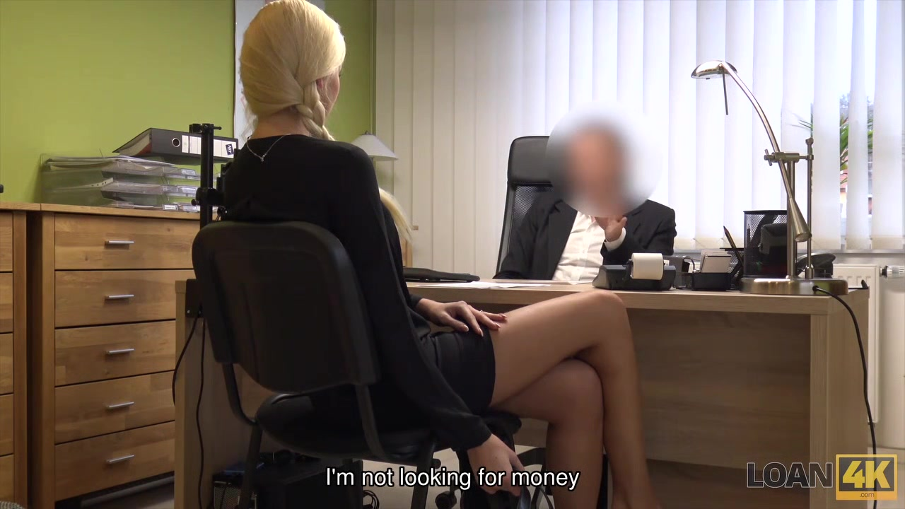 LOAN4K. New car costs money so blonde gets in hands of loan agent Small tits hairy pussy milf