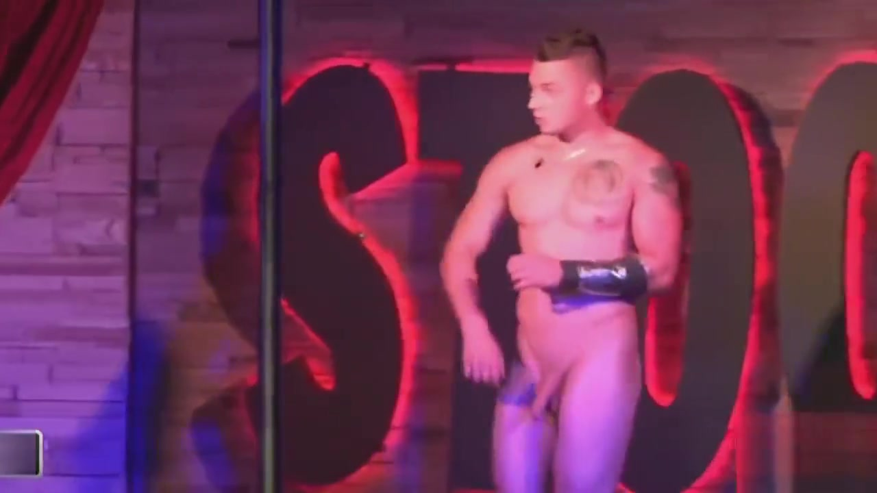 NAKED MALE STRIPPER 11 Big ass small tits sexy hung tranny