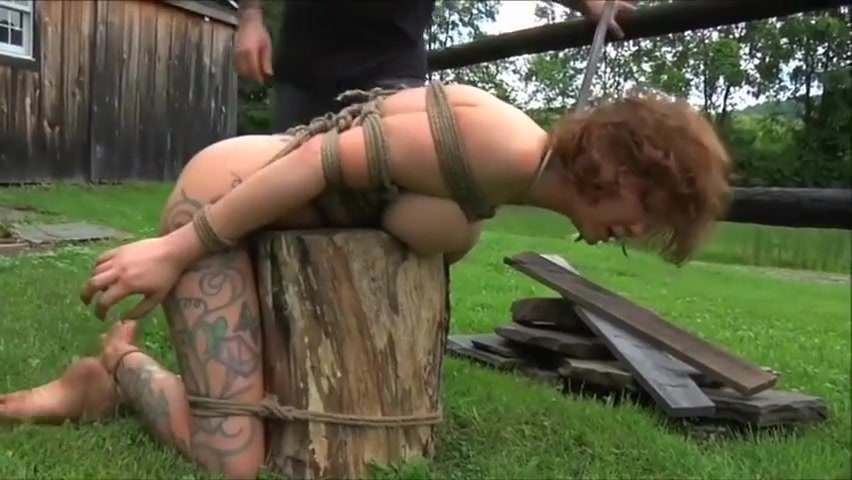 Sexy harlot performing in BDSM video Free live sex on skype