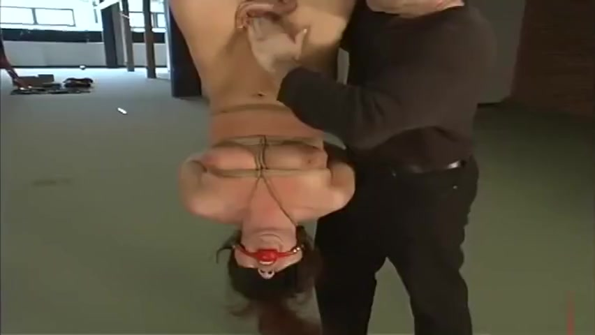 Stunning gal featuring hot BDSM video His first milf celine noiret