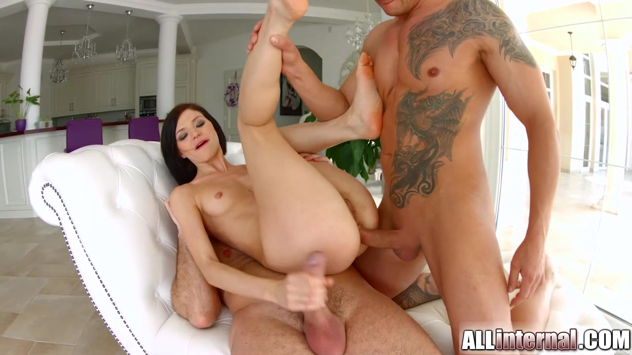 All Internal hottie Lina gets her holes filled in threesome x men evolution gay porn