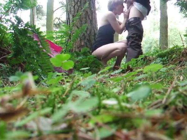 woods Sexy slut crossdresser fucking black dick
