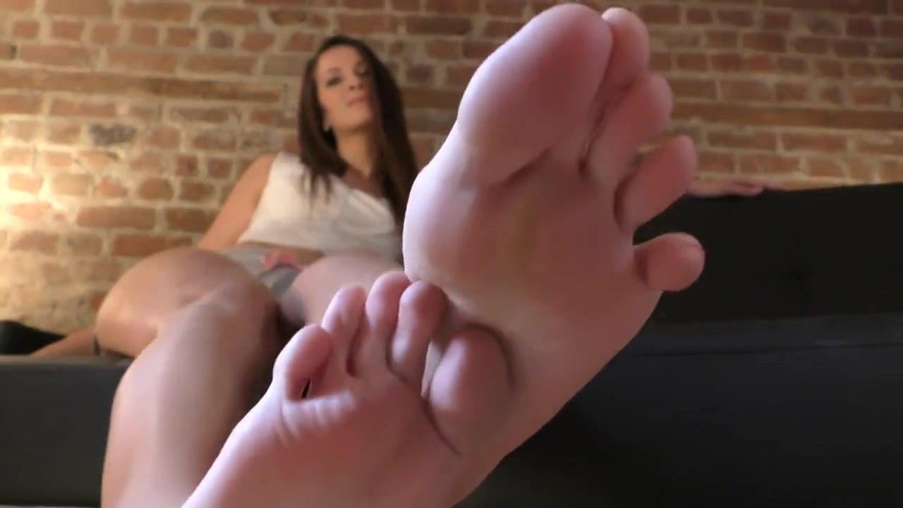Sweaty Sock Removal  Long Clean Toes