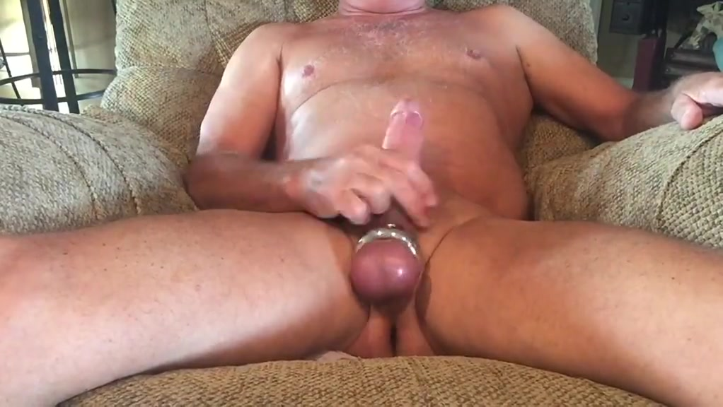 Ball Streching Masturbation with cum shot Russian pth c ped o