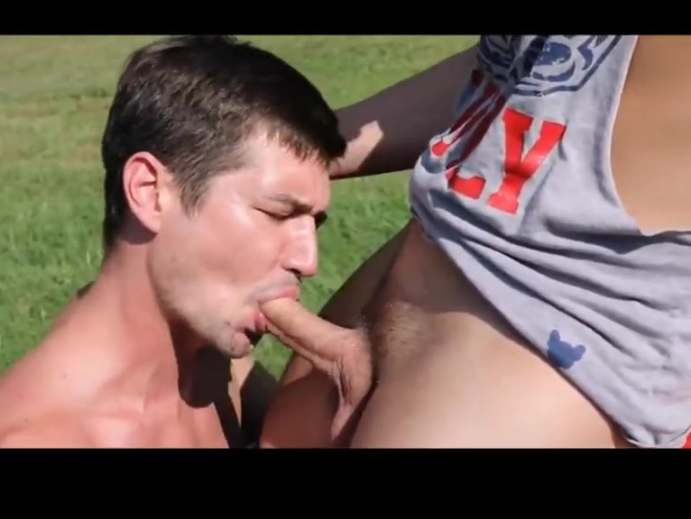 SEX ON THE MOWER Thin and black bent over nude