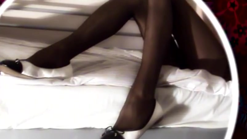 Edging in Shiny Black Tights Busty Mature Widow Parody Xxx