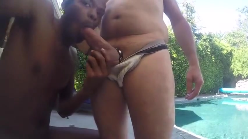 Poolside Floaty Fuk Video sex with old women
