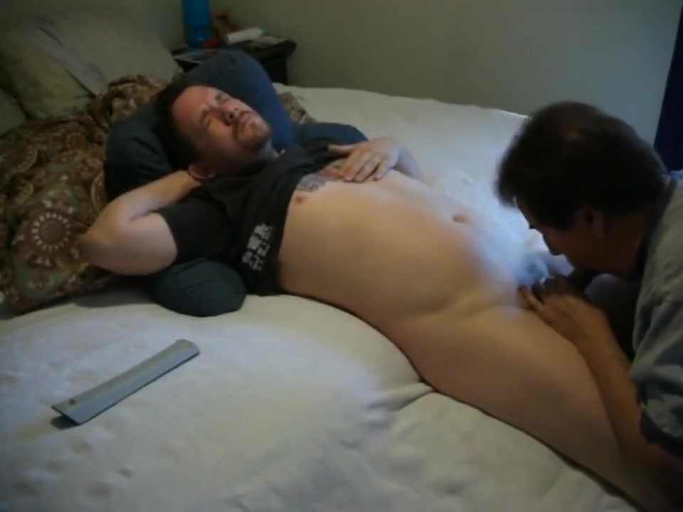 horny straight guy needs his dick sucked and load swallowed naked girl fucked asshole