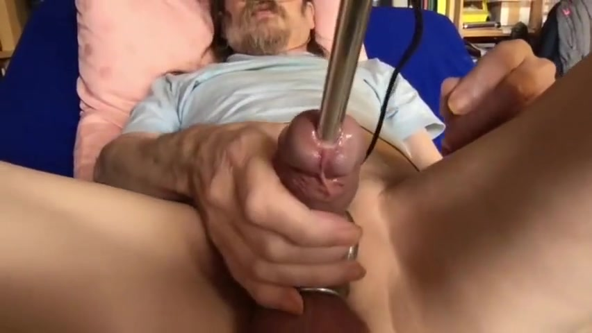 deep urethral training with electric baton Virtual Sex World Games