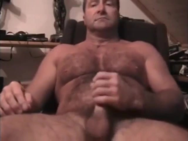 NICE HAIRY DAD WANKING Nude Nurse Wash Men Male Pubes