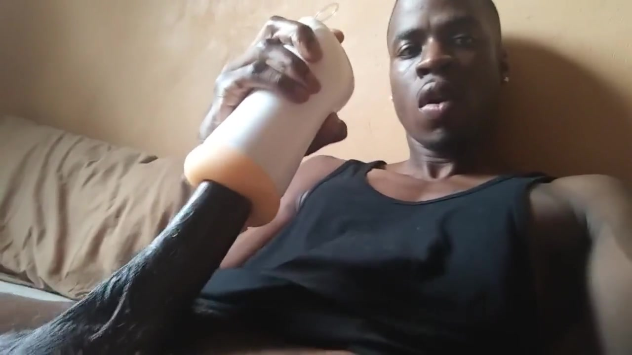 Fabulous adult video gay Black newest just for you Fat old man getting blowjob