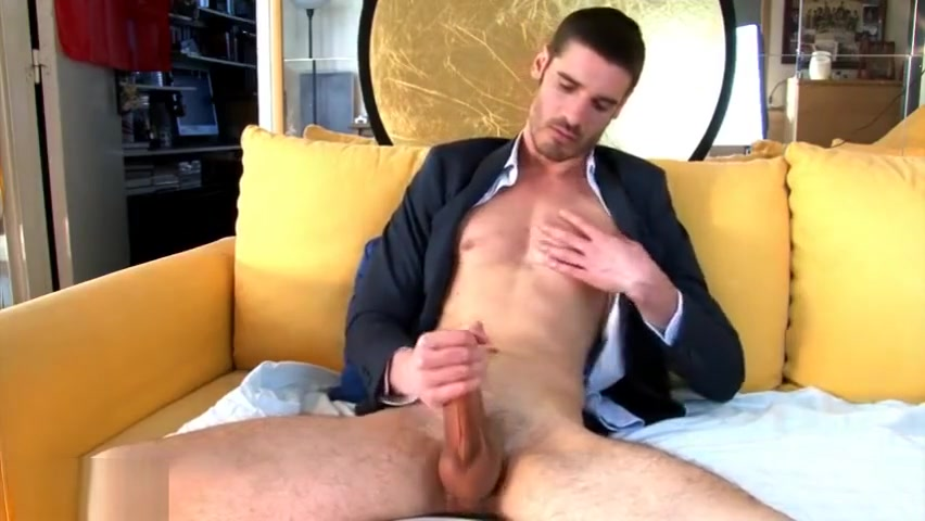 Pierre handsome str8 salesmale in a porn in spite of him ! ? Full video Woman fucked by big cock