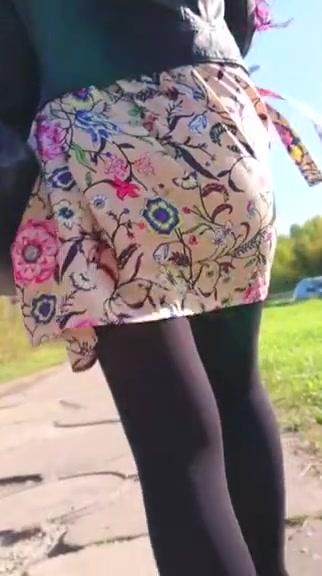 Upskirt at the street 19