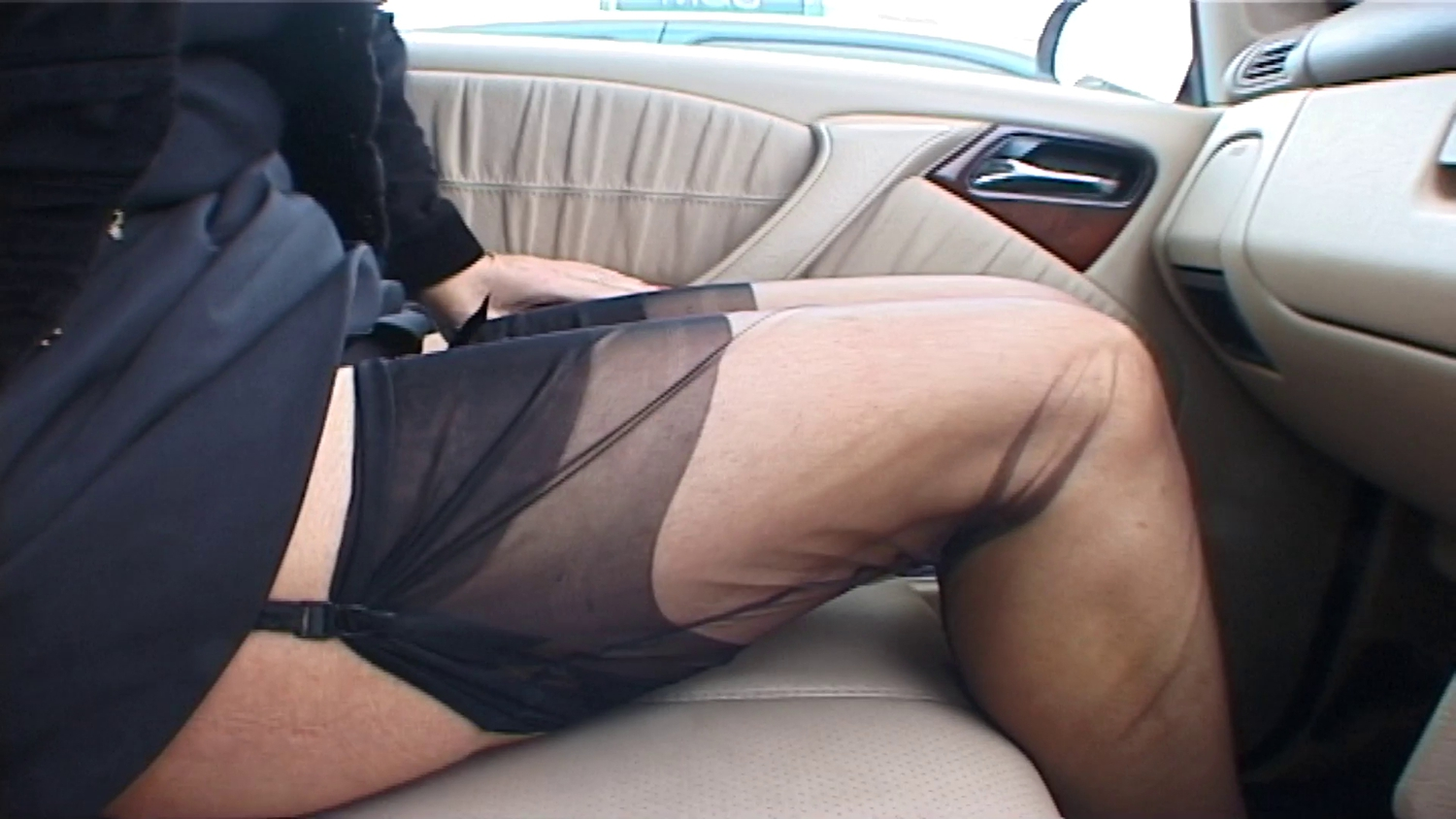 UK HELEN ...STRETCHING MY LEGS AT A SERVICE STATION