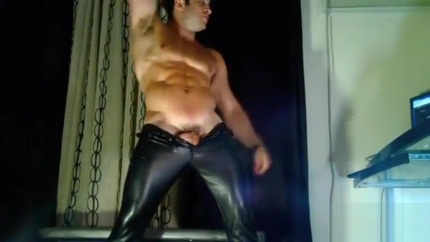 HOTGYMNAST LEATHER 2 Asian men