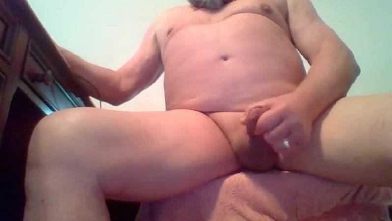 71 yrold Grandpa #243 uncut cum close solo wank mature cock massive nigger cum shots