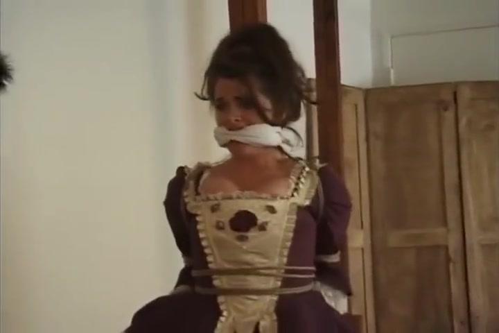 Kelsie Chambers Pannier Dress Bondage