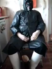 Orders from rubber master. Stripped naked and paraded