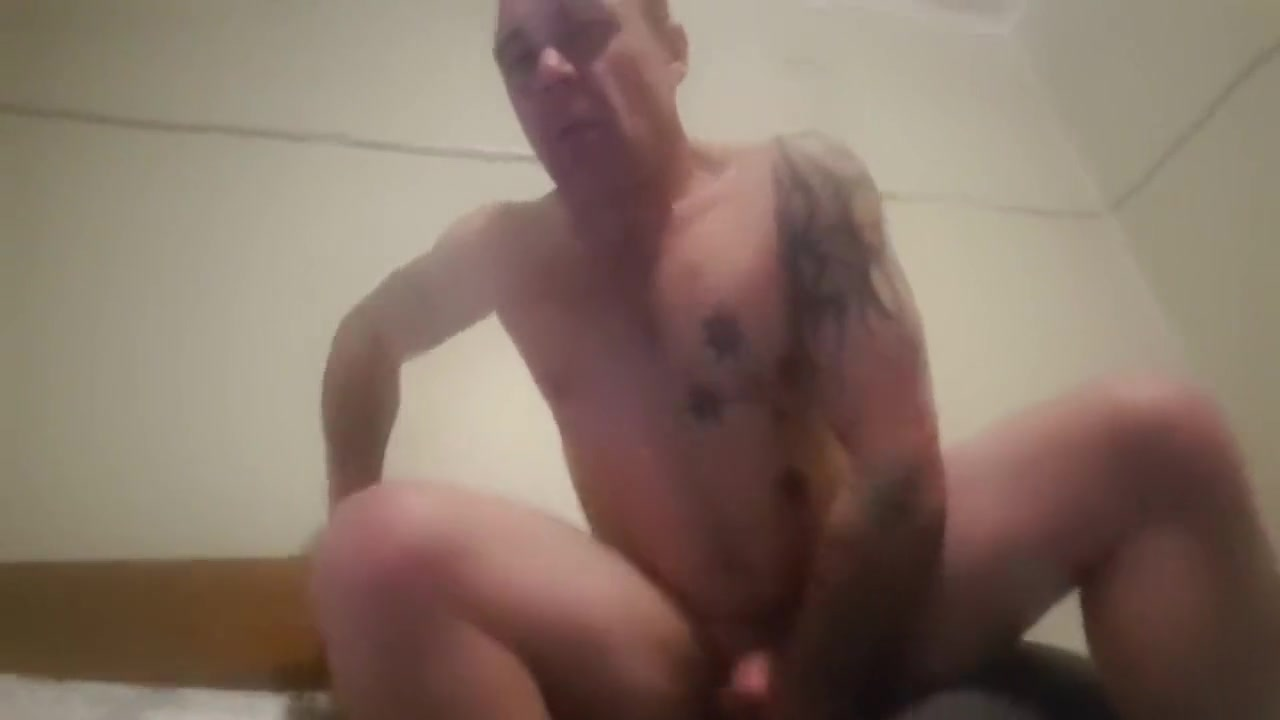Riding my 8 Dildo Deep in my arse while stroking my cock with Cumshot Taming a hungry penis with sexual riding