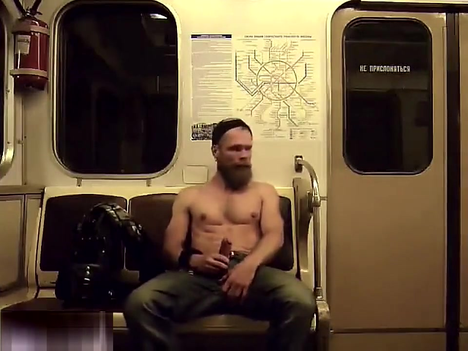Guys DARE to have actual sex on a moving train tits popping outta top