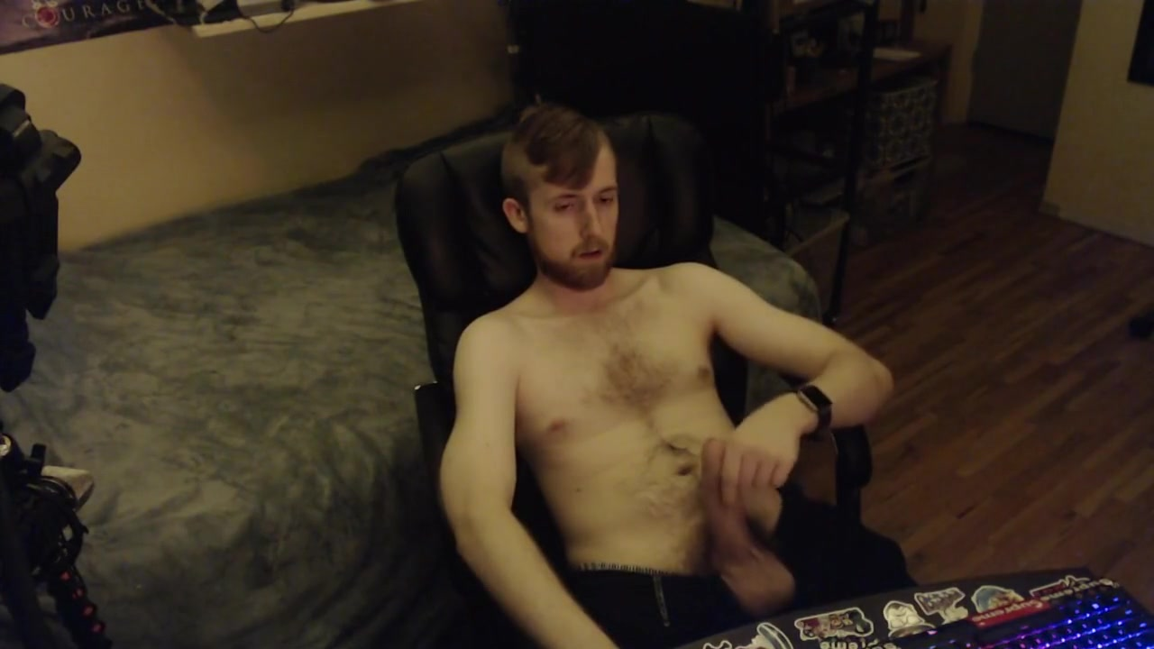 24YO CANADIAN BIG UNCUT DICK JERK OFF AND CUM ON CHEST. YOUNG COLLEGE GUY sexy guy girl kisses