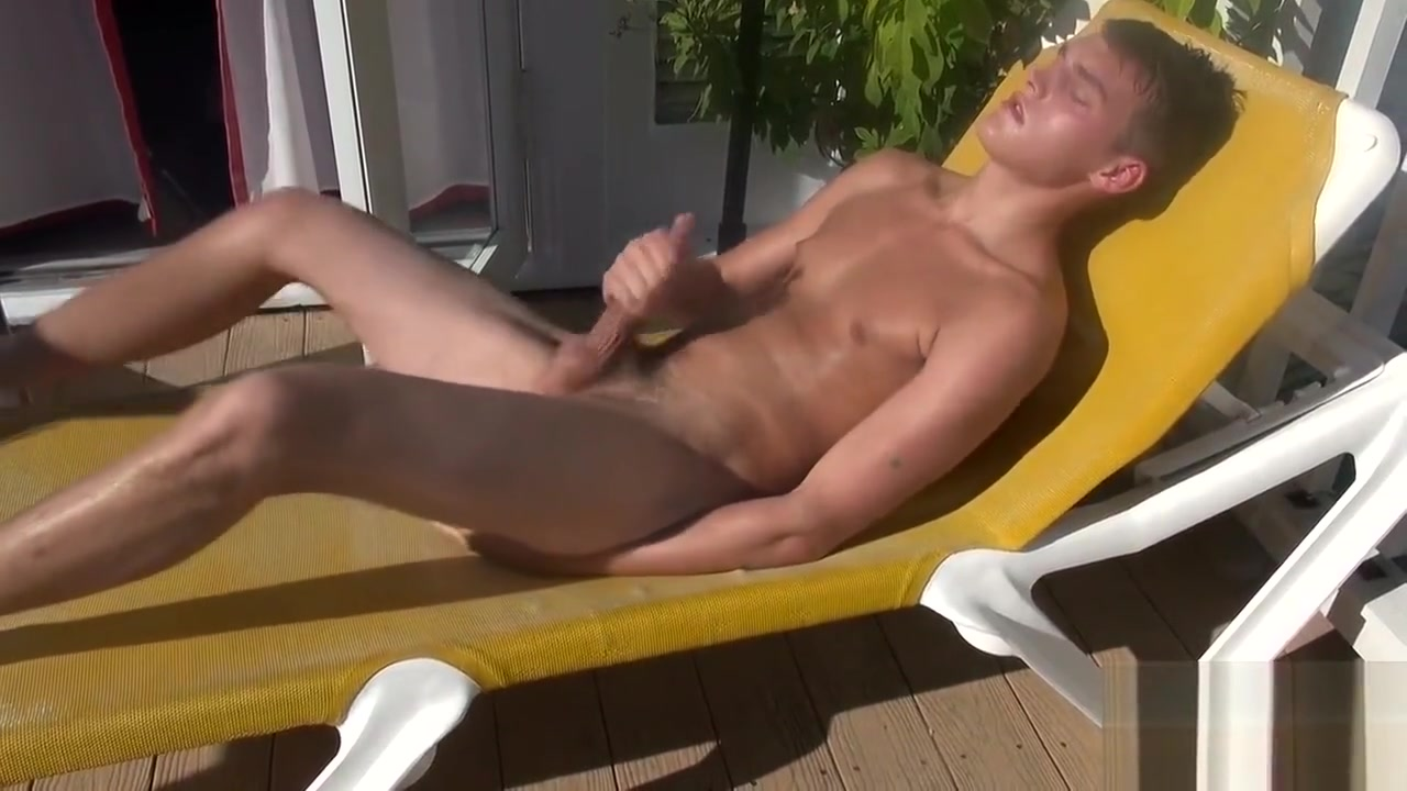 Balcony Wank Images of cock moving pictures