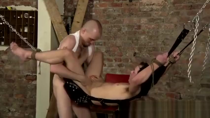Bondage boy underwear gay That slick guy fuckhole is lubed up, fingered Sister - in - law threesome