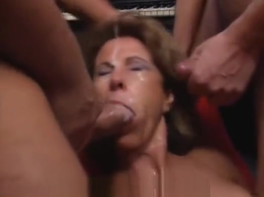 Bukkake milf Sexy huge boobs transgender