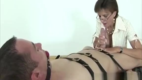 Domina ruling over a dick as she is about to cbt Jitterbug smartphone for seniors