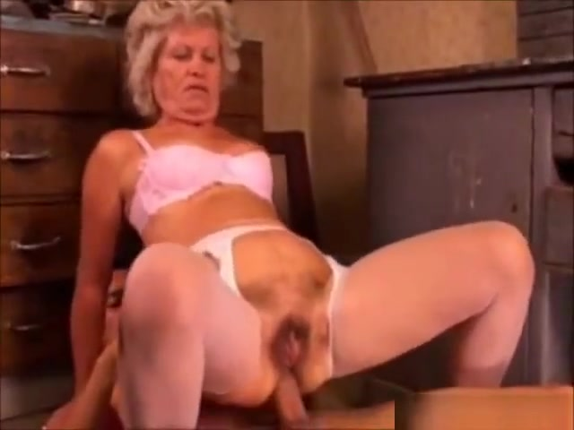 Naughty granny likes anal sex and submission movie