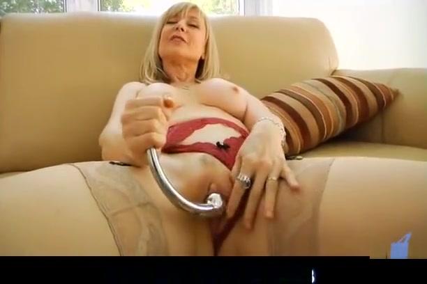 Nina Hartley spanks her pussy Wendy Taylor Porn Films