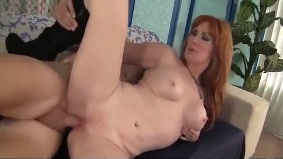 Redheaded Grandma Freya Fantasia Fucked Hard Jessies anal world