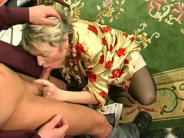 Russian Business grandmother! brother and siste sex