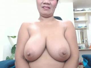 Big tit Asiian mature on cam again Cutie cum filled mouth gif