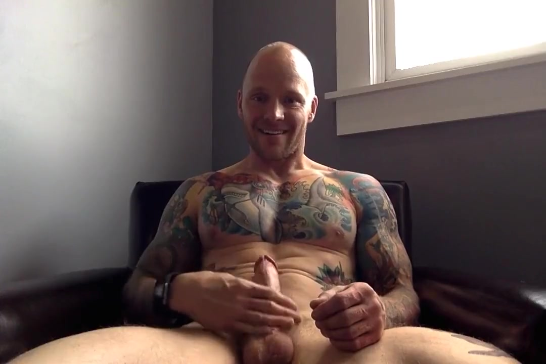 tatted up straight muscle stud pumps a big nut What is the meaning of lust and love
