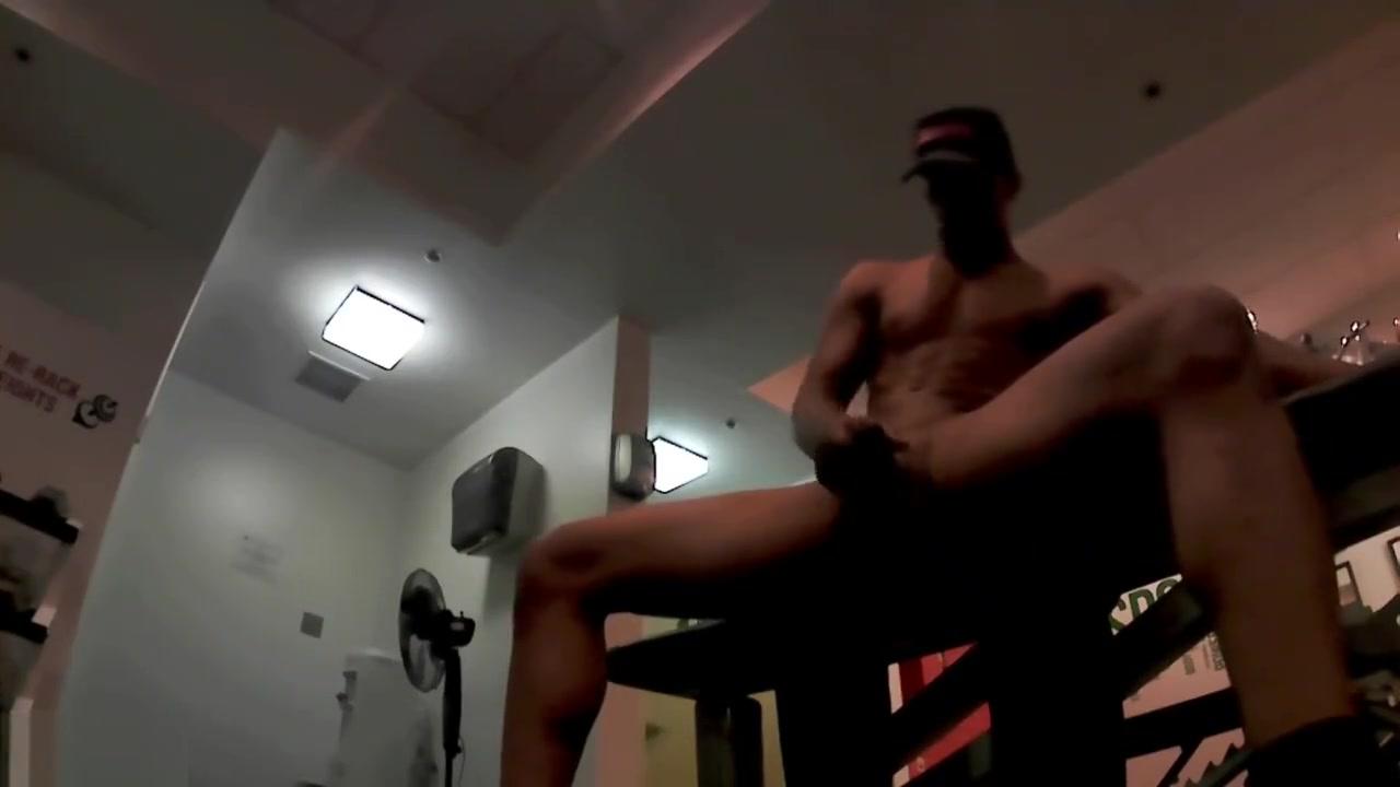 Masturbating at the gym Hot sucking Milfs
