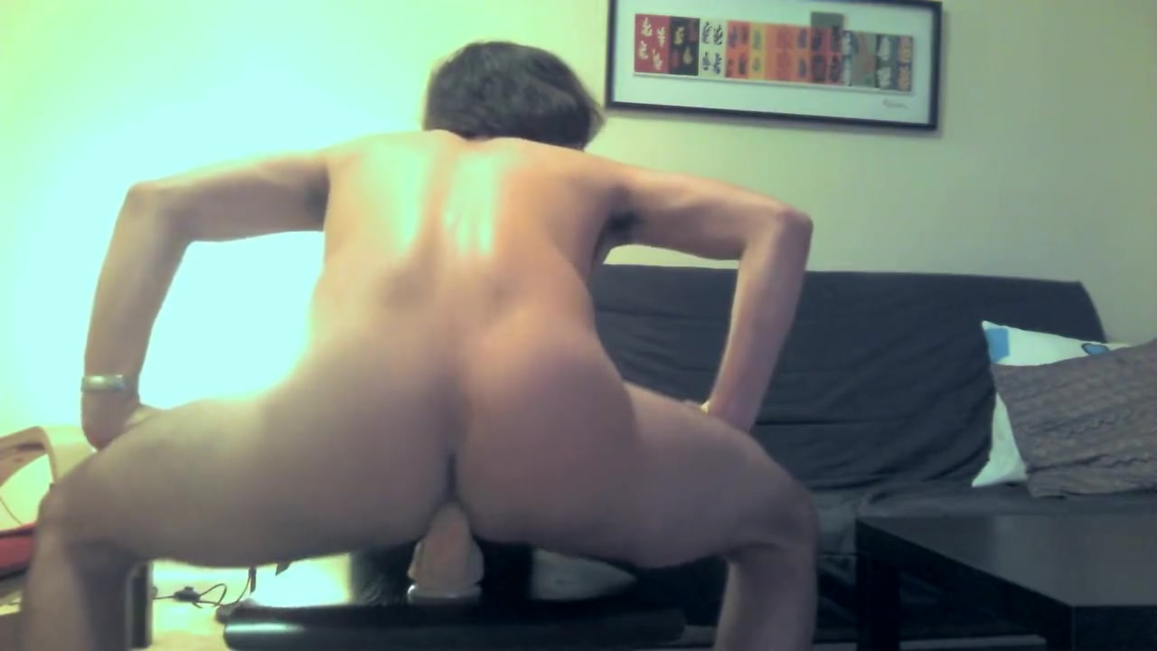 Riding a Fat Dildo on a Chair Ful Sexsex Vidio