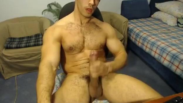 Hairy Straight Guy Webcam Jerk Off Water Filling