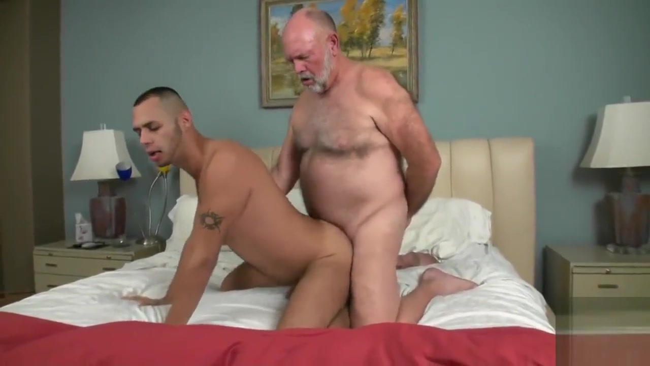 Hairy grandpa has dirty sex with a hot young jock Xxx Sexi Viedo