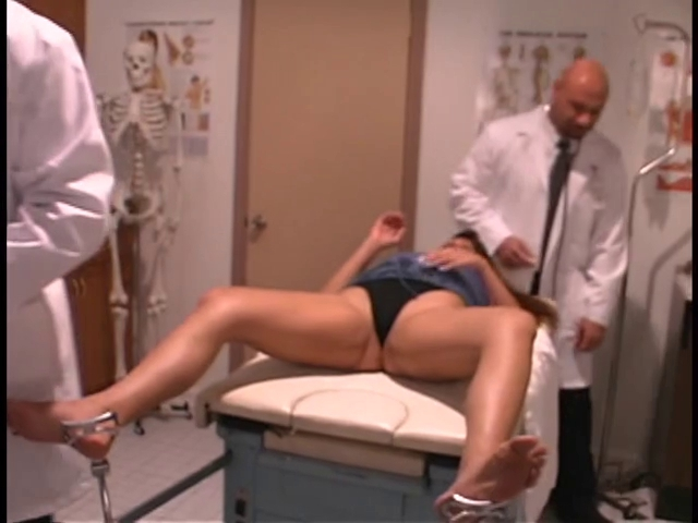 Sexy patient receives her wet crack and a-hole checked by hung doctors Dildo thumbnail galleriea