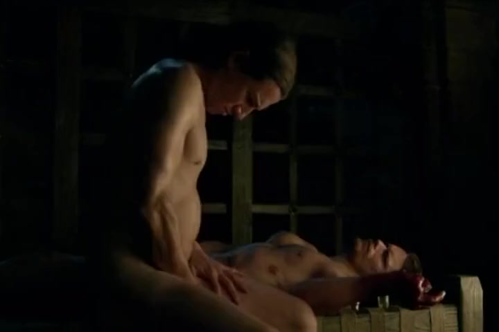 Outlander Season 1 Jamie and Captain Black Jack Randall Home made black sex tape