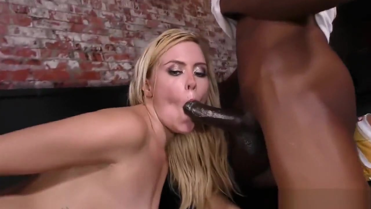 Summer Day enjoys her co workers BBCs in a DP Clip Black bbw toying squirting