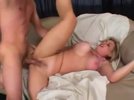Big Breasted Blonde Cougar Has A Young Stud Plowing Her Hairy Peach Girl sucking breast milk