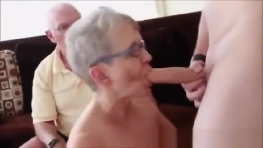 Grandpa Grandma Threesome Smart beautiful lesbians licking pussies