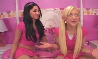 blonde and brunette girl lesbians Beautiful nude grandmas