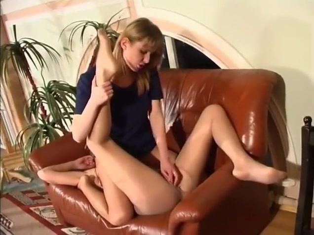 Russian nylon lesbians. Nylonfeetline g546